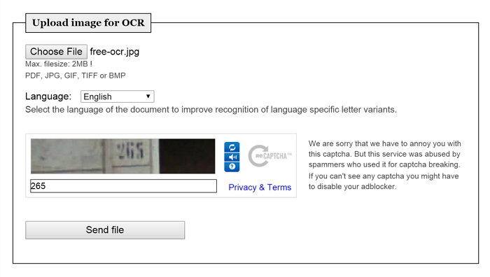 free-ocr