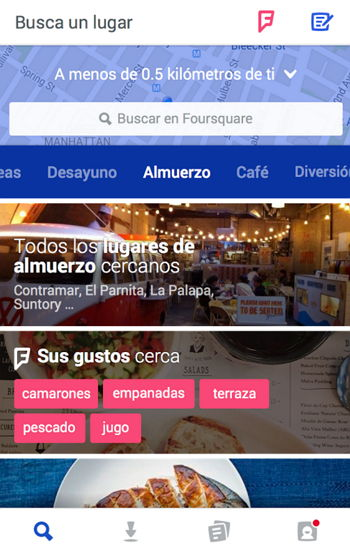 foursquare-android-ios