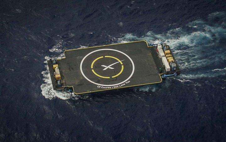 Imagen cortesía SpaceX