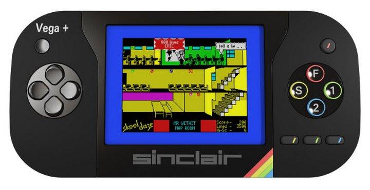 Sinclair ZX Spectrum Vega+ una nueva consola portátil con más de 1000 juegos Retro
