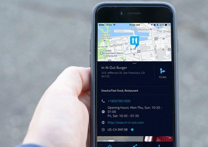 HERE Maps para iOS actualizado con 3D Touch y ofreciendo información de lugares mucho más detallada