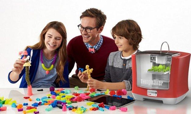 Mattel introduce impresora 3D para familias a solo 300 dólares, junto con apps gratis para diseñar juguetes