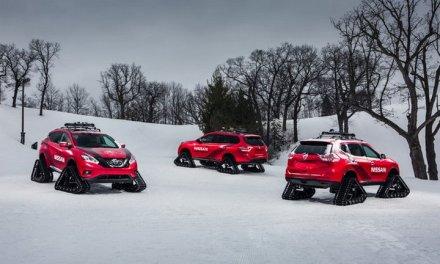 Nissan crea 3 conceptos alucinantes de crossovers para la nieve #NissanWinterWarriors