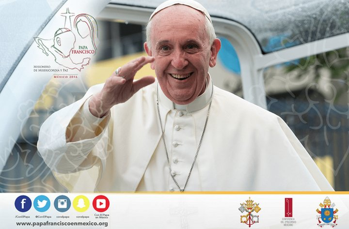 Google te ayudará a seguir paso a paso la visita del Papa Francisco a México