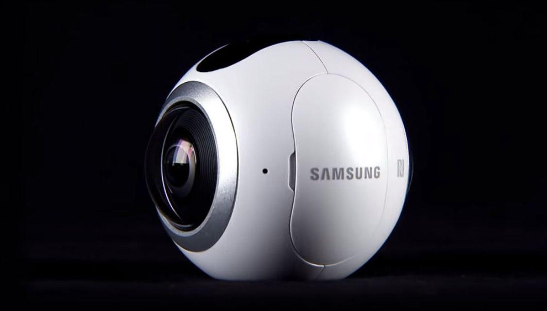 Samsung Gear 360, nueva cámara para capturar vídeos a 360 grados #MWC2016