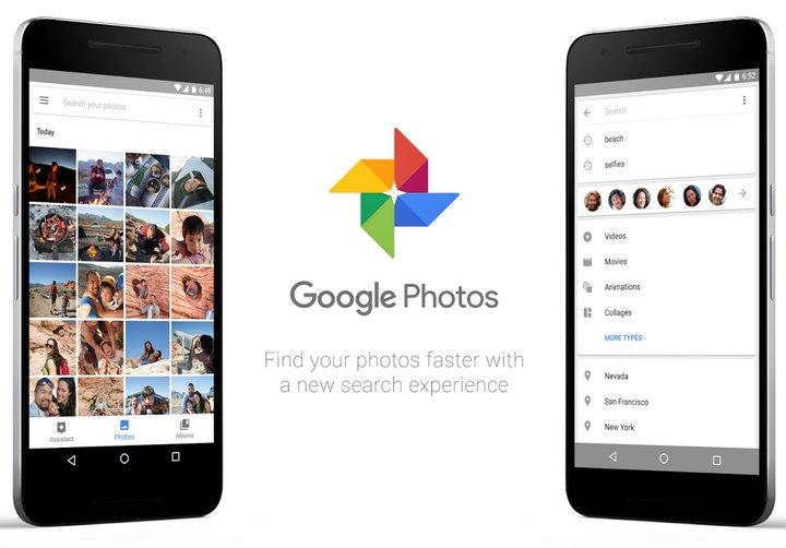 Google Fotos para Android con un buscador más rápido y eficiente.