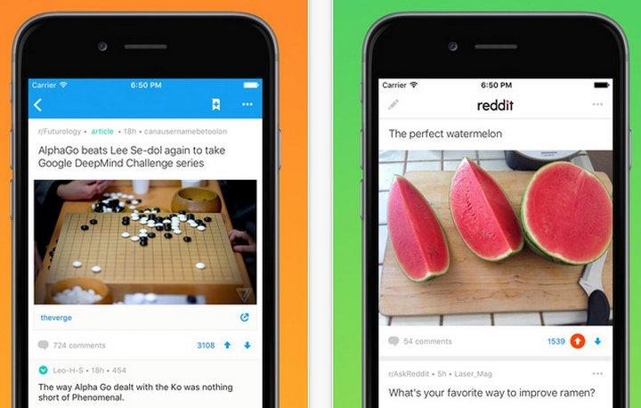 Reddit lanzó sus primeras aplicaciones móviles oficiales para Android e iOS