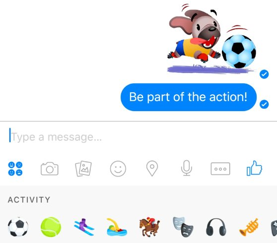 Facebook Messenger tiene un nuevo juego oculto
