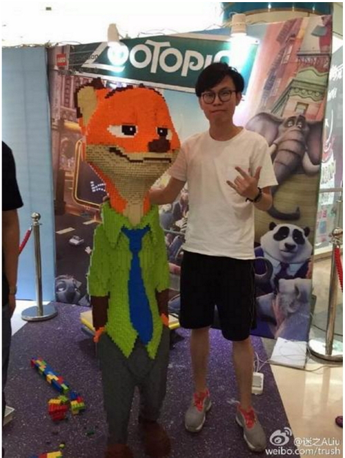 nick-wilde-estatua-lego-Zhao