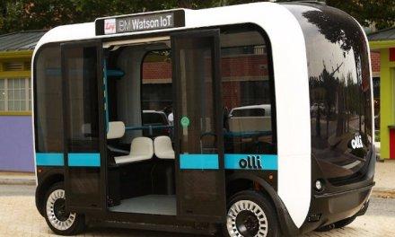 Olli es un nuevo mini autobús eléctrico autónomo que será el primero de su tipo en usar IBM Watson