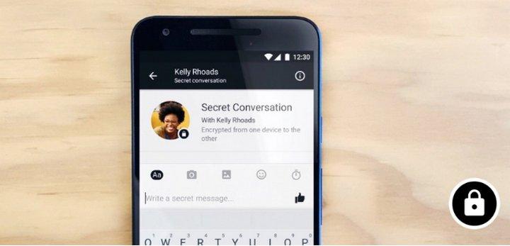 Facebook anuncia Conversaciones Secretas en Messenger con cifrado de extremo a extremo