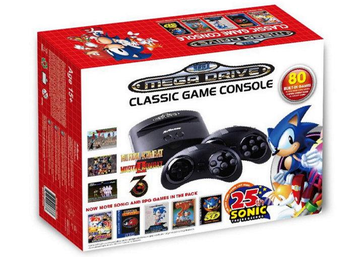 Sega sigue a Nintendo con dos sistemas retro Sega Mega Drive