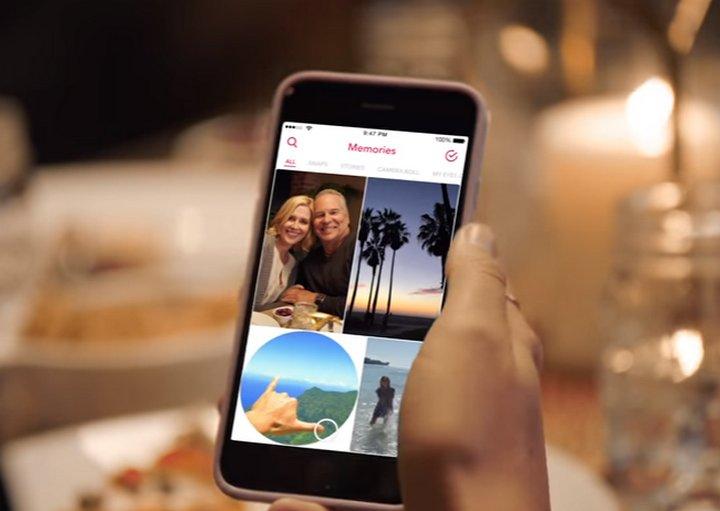 Snapchat anuncia Memorias para poder guardar Snaps e Historias el tiempo que quieran