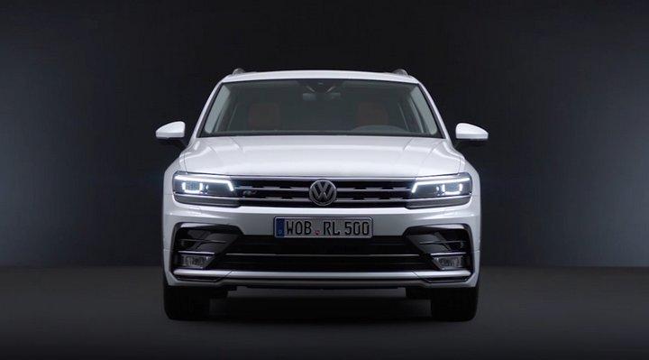 Volkswagen introduce un asistente virtual en la presentación del nuevo Tiguan