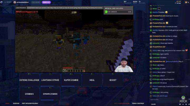 Microsoft Beam Xbox Live
