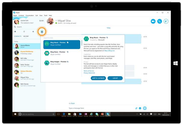 Microsoft lanza nuevos Skype bots, entre ellos uno de IFTTT
