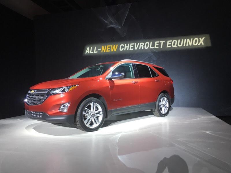 Chevrolet presenta el nuevo Chevrolet Equinox 2018, más liviano y elegante