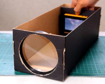 DIY Proyector para Smartphones