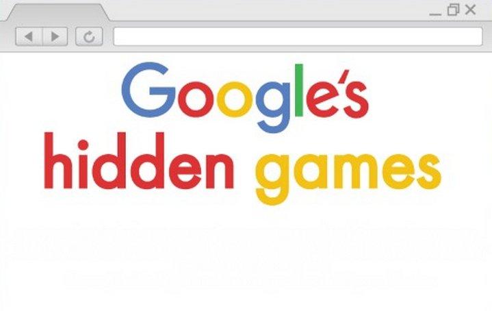 Cómo encontrar algunos juegos ocultos de Google