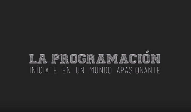 Curso gratis de la Fundación Telefónica sobre Iniciación a la Programación