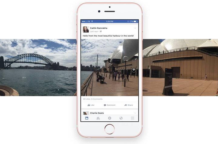 Facebook Fotos de 360 grados