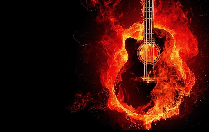Guitarra - Fuego - AvoPix