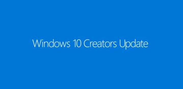 Actualización Creadores Windows 10