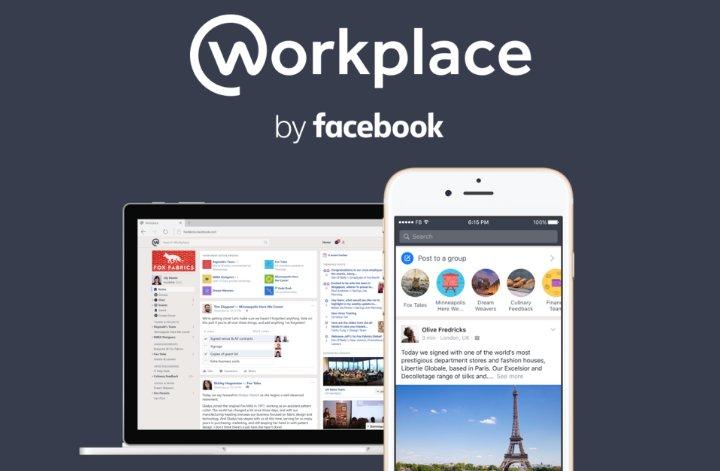 Facebook lanza Workplace, la red social para empresas