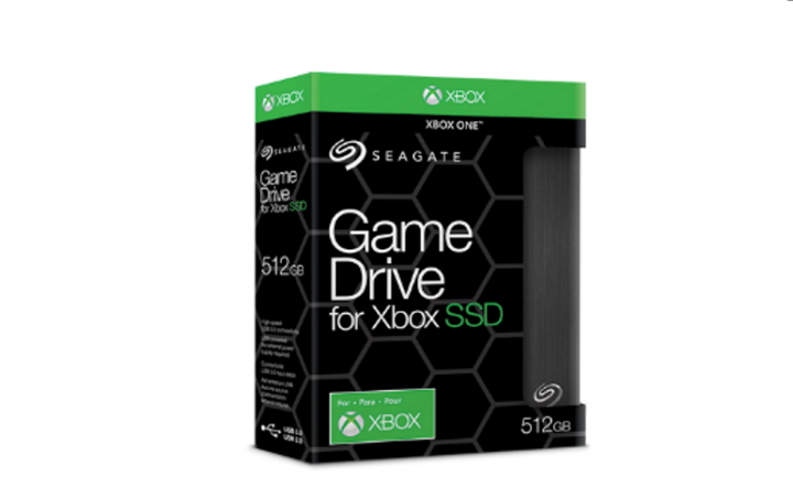 Seagate Game Drive, nuevo SSD externo exclusivo para Xbox One