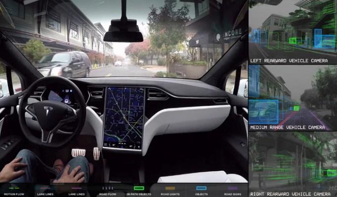 Tesla Motors - Piloto Automático