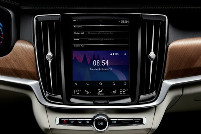 Volvo Serie 90 - Android Auto