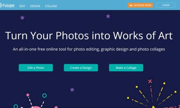 Fotojet, editor de imágenes para crear collages, tarjetas y muchos otros diseños
