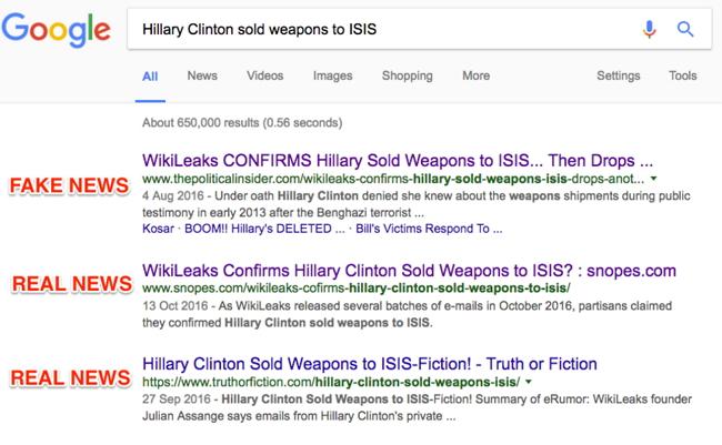 Google News Bogus