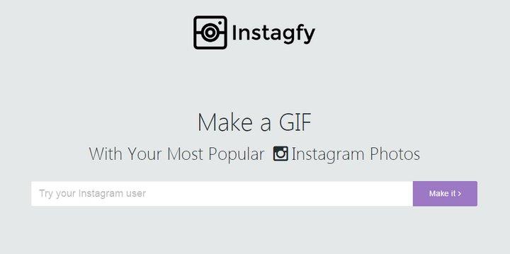 Instagfy, crea un GIF o vídeo con tus mejores imágenes del 2016 en Instagram