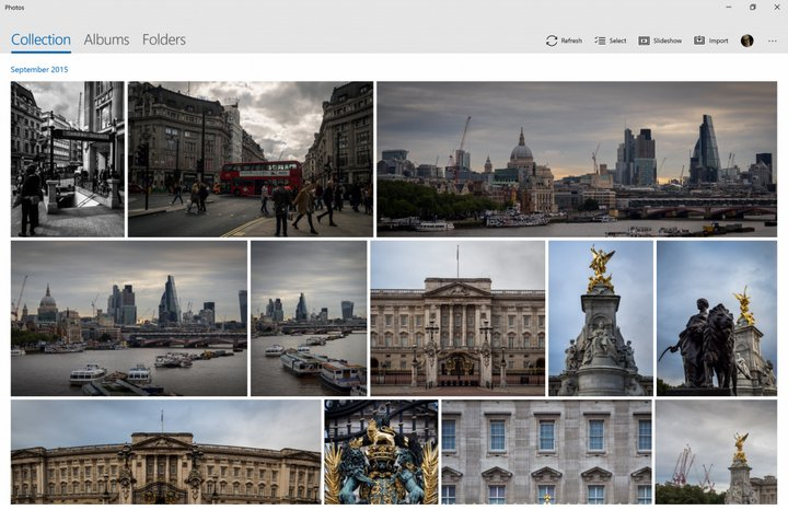 Microsoft Fotos Windows 10