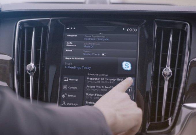 Volvo 90 Series - Skype para Negocios