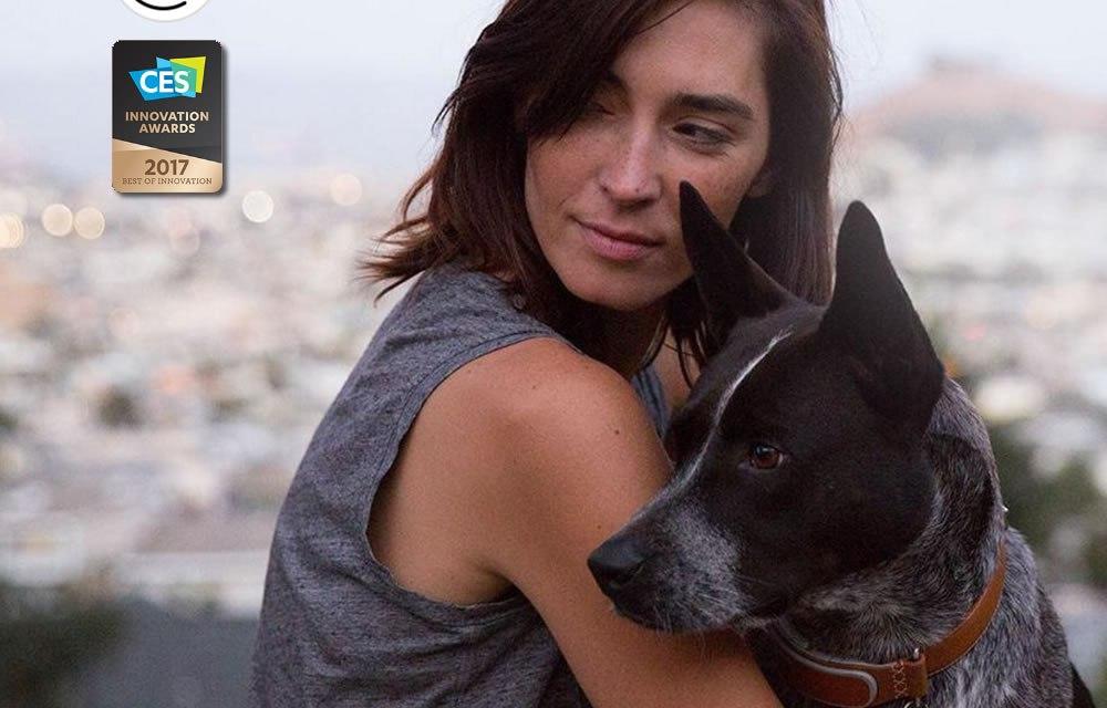 Link AKC: Collar de perros con GPS #CES2017