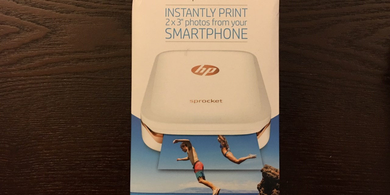 Un breve vistazo a HP Sprocket, la impresora movil de HP Inc.