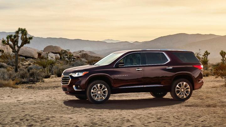 Presentan la completamente nueva crossover Chevrolet Traverse 2018