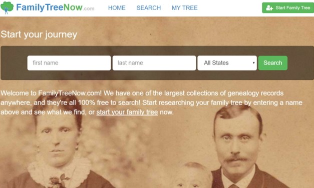 Como quitar tu información del sitio Family Tree Now
