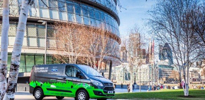 Londres - Ford Custom Transit Híbrida