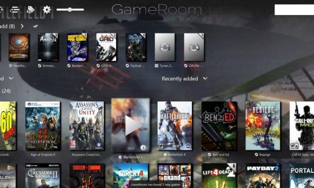 GameRoom es un lanzador de juegos para Windows que agrupa juegos de varias plataformas en un solo lugar
