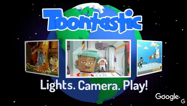 Google Toontastic 3D permite a los más pequeños crear caricaturas e historias en 3D
