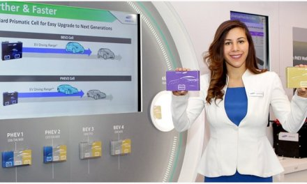 Samsung SDI presenta nueva batería para vehículos eléctricos que con 20 minutos de carga ofrece un alcance de 600 km