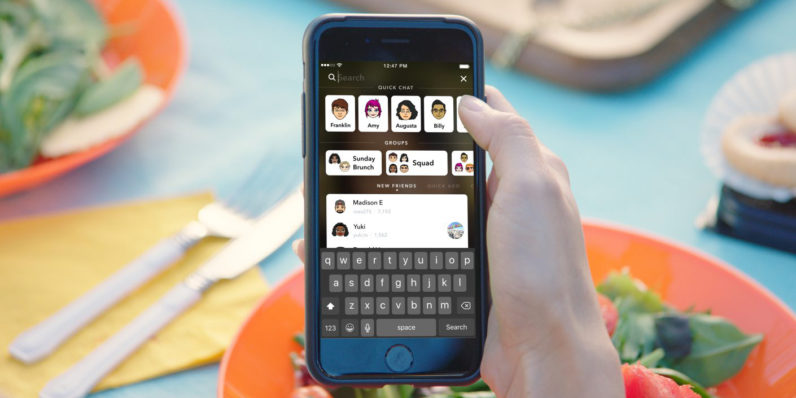 Snapchat soluciona uno de sus mayores problemas, introduce un buscador universal