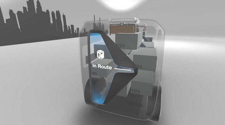 Ford Ciudad del Mañana - Concepto Autodelivery