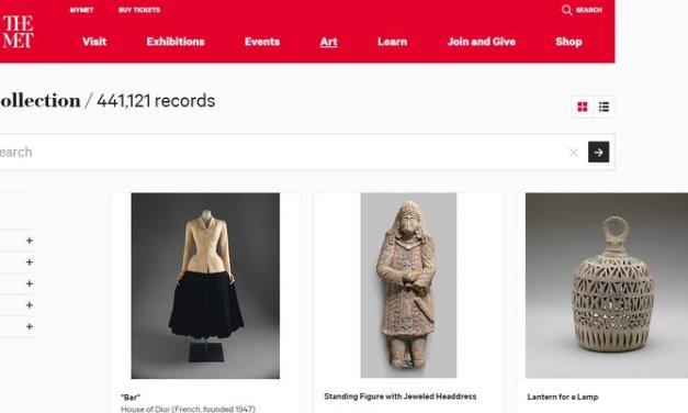 El Museo Metropolitano de Arte de Nueva York ya ofrece 375.000 imágenes con licencia CC0