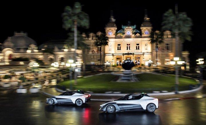 Nissan Bladeglider - Margot Robbie - Mónaco