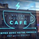 Nissan Electric Café, una forma muy innovadora de utilizar la energía #ElectrifytheWorld