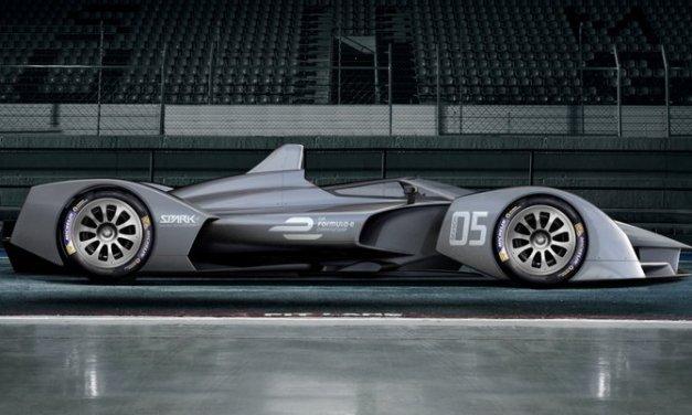El concepto del auto de carreras para la 5ta temporada de Formula E es alucinante y tiene un aire al Batimóvil